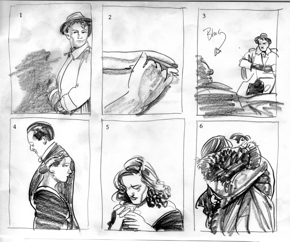 Sketches & Thumbnails 2