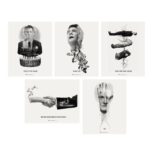 A TWIN PEAKS INTERPRETATION AP giclee set #11