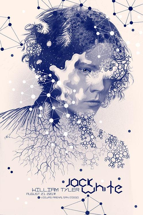 JACK WHITE SD Concert Poster VARIANT