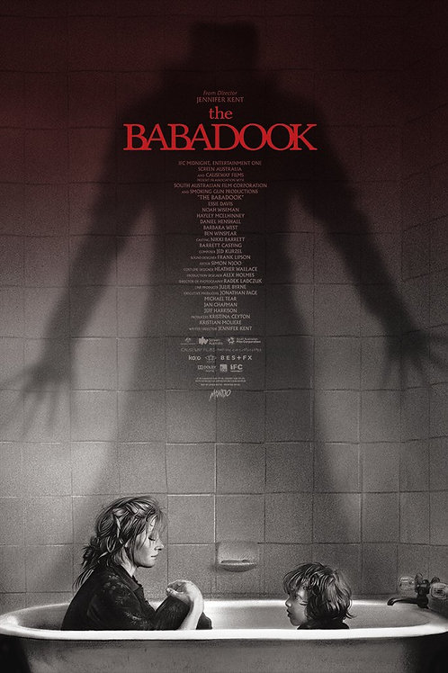 Mondo's THE BABADOOK signed AP variant