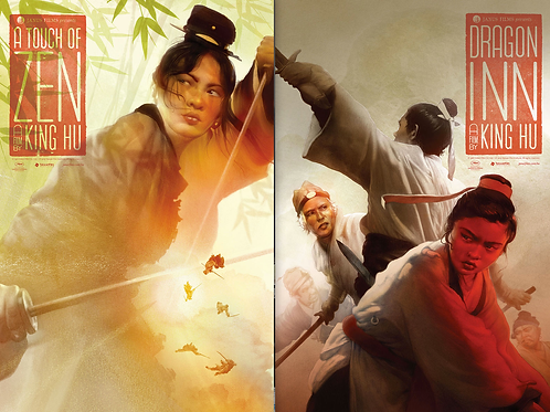 CRITERION 2x King Hu poster set
