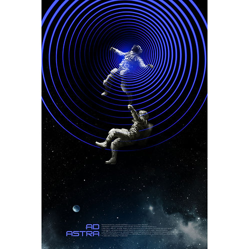 MONDO/20th Century Fox's AD ASTRA ap screen print