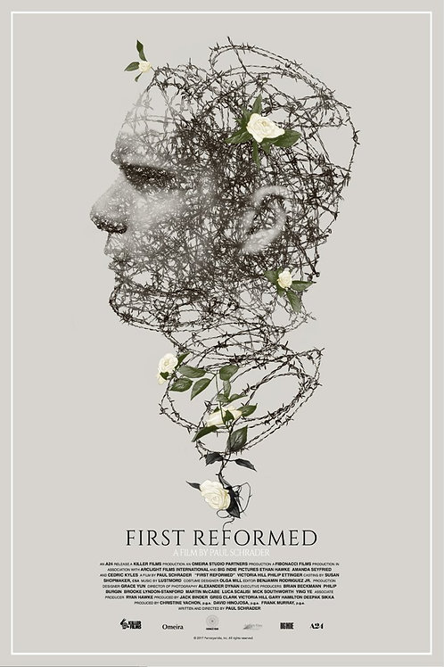 Mondo's FIRST REFORMED remarque edition
