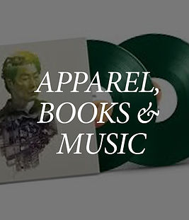 Apparel, Books & Music