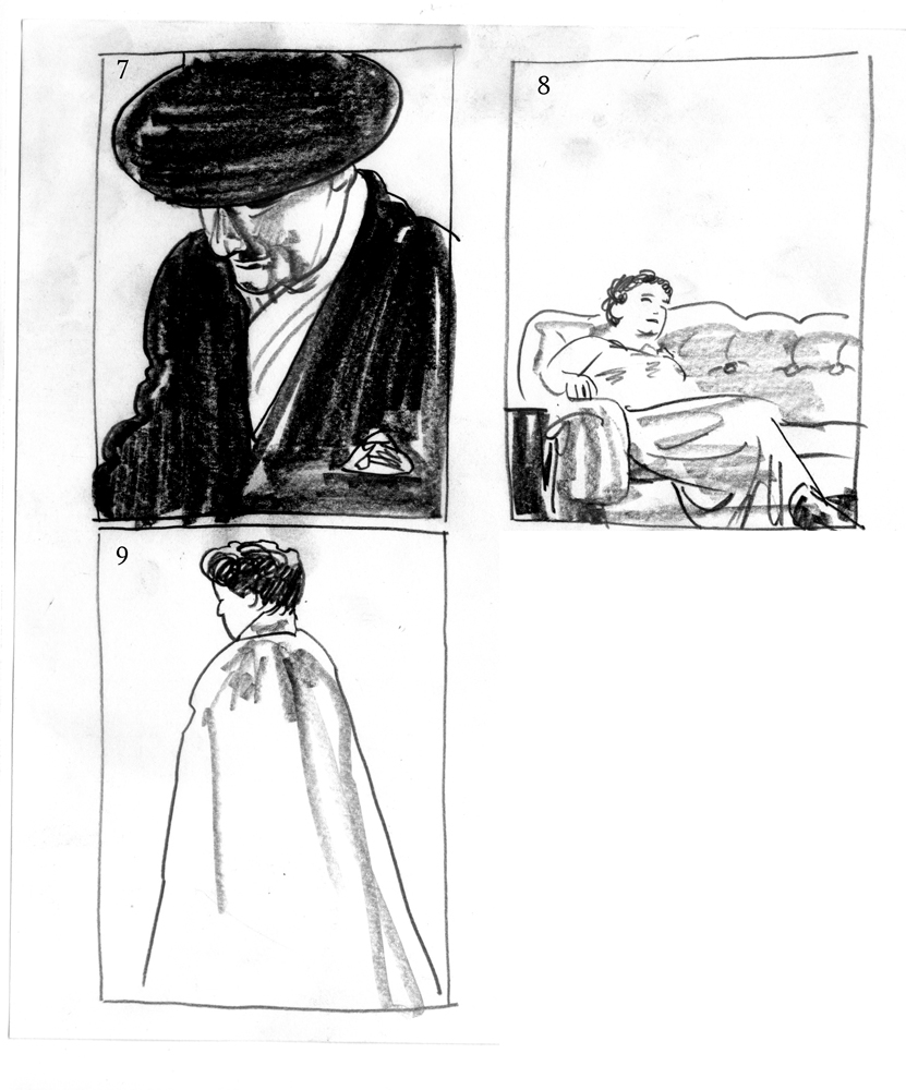 Sketches & Thumbnails 3
