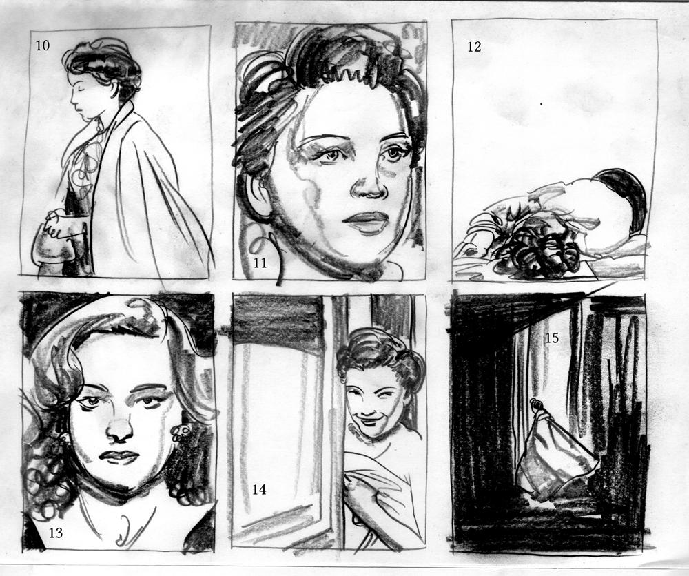 Sketches & Thumbnails 1