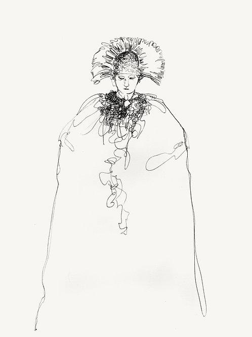 """Original """"MARIA"""" recursive drawing #1"""