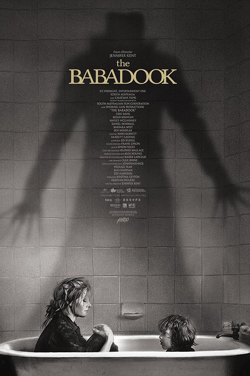 Mondo's THE BABADOOK signed AP primary