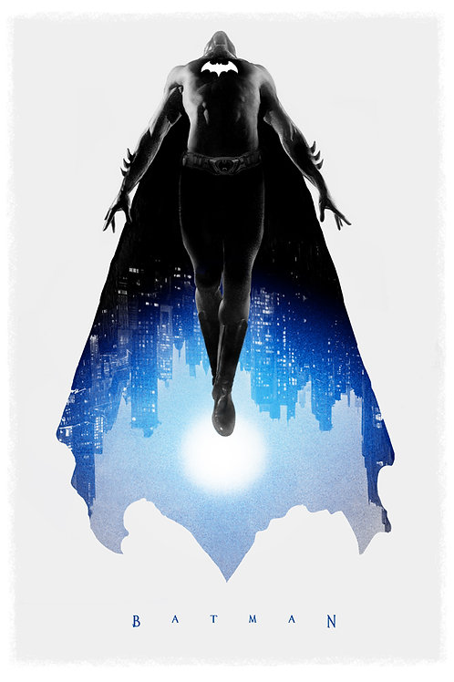DC/Mondo's BATMAN AP screenprint (primary)