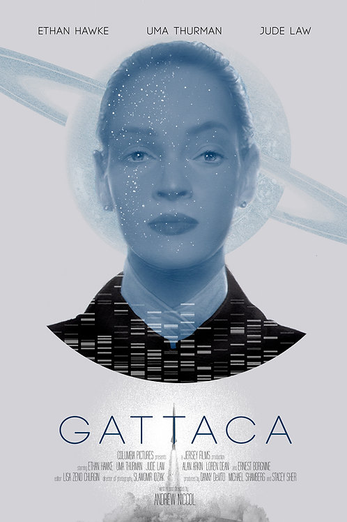 GATTACA ltd edition screenprint UMA