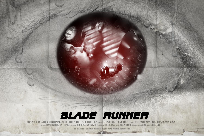BLADE RUNNER poster VARIANT