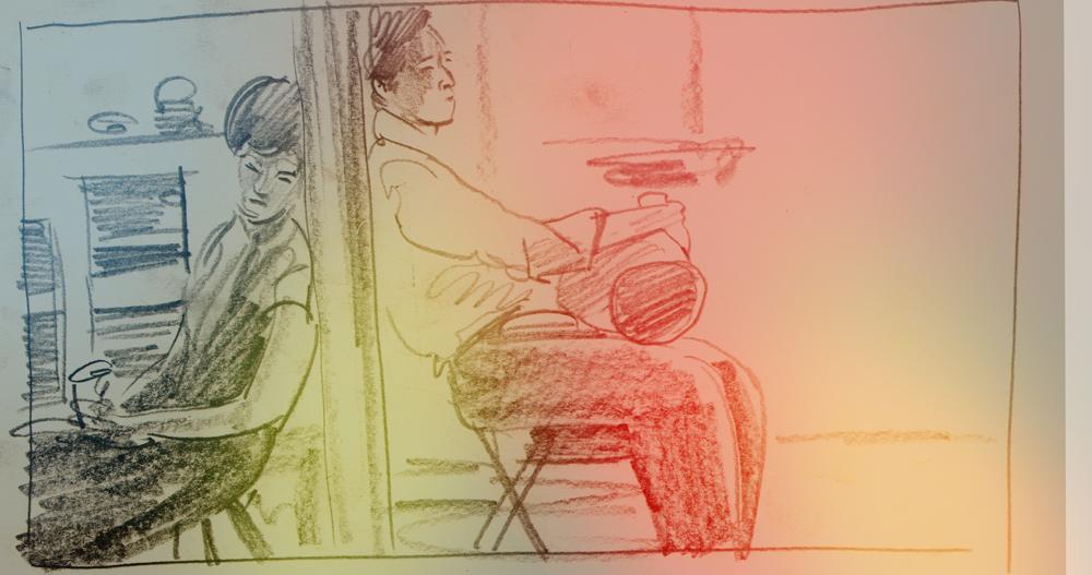 First Interior sketch