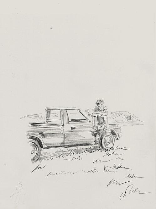 Original concept sketch for BOYHOOD 1