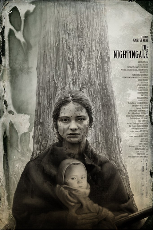 Mondo's THE NIGHTINGALE AP  screenprint