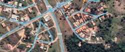 A casa no bairro Residencial Triunfo possui 81 metros quadrados com 3 quartos e 2 banheiros, Casa a