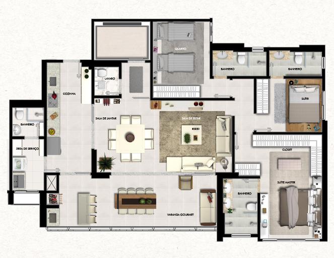 Apartamento a venda no Setor Marista
