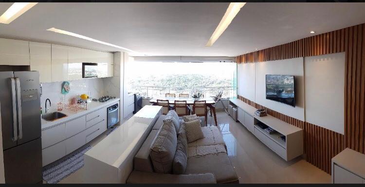 Apartamento a venda com 90 m² sendo 3 suítes no Setor Pedro Ludovico em Goiânia acima da T¨63