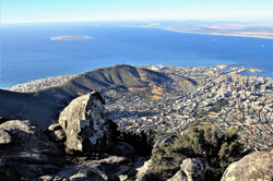 Table Mountain Views of Cape Town South Africa - Luxury Wine Trails Exclusive vineyard tours