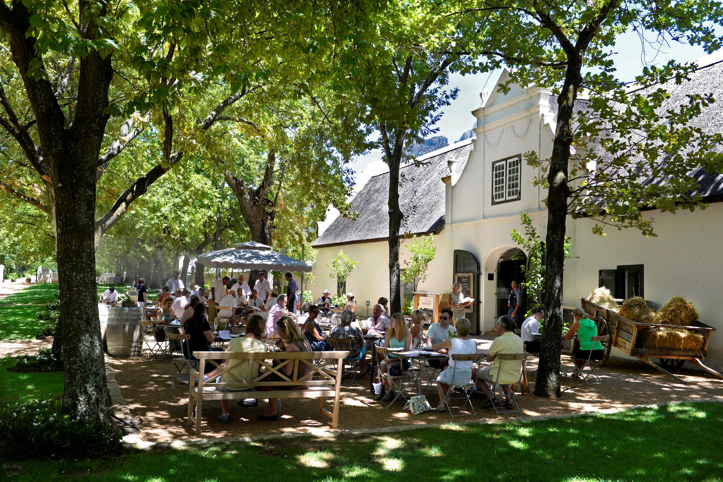 Boschendal Winefarm in Franschhoek South Africa - Luxury Wine Trails exclusive tours