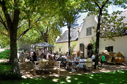 Boschendal Winefarm in Franschhoek South Africa - Luxury Wine Trails exclusive tours