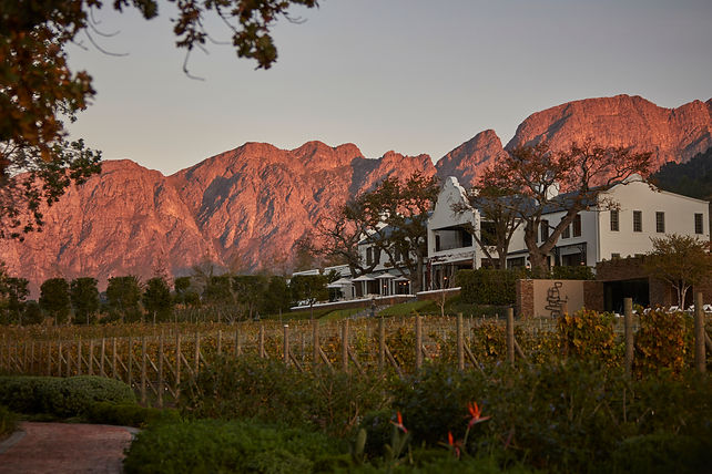 The Manor House at Leeu Estate - Franschhoek Cape Winelands - Luxury Wine Trails tours
