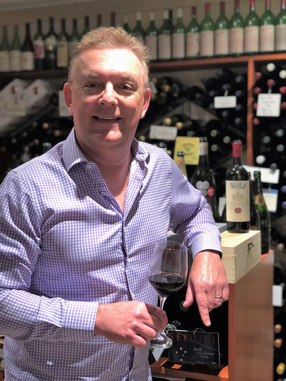 Director & Founder of Luxury Wine Trails - Michael Nash