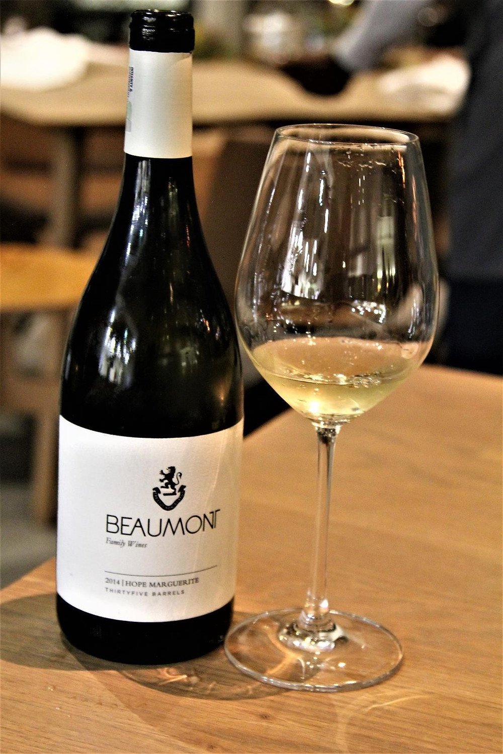 South Africa's Bot River Region - Beaumont Hope Marguerite Chenin Blanc - Luxury Wine Trails exclusive Cape Wineland vineyard tours