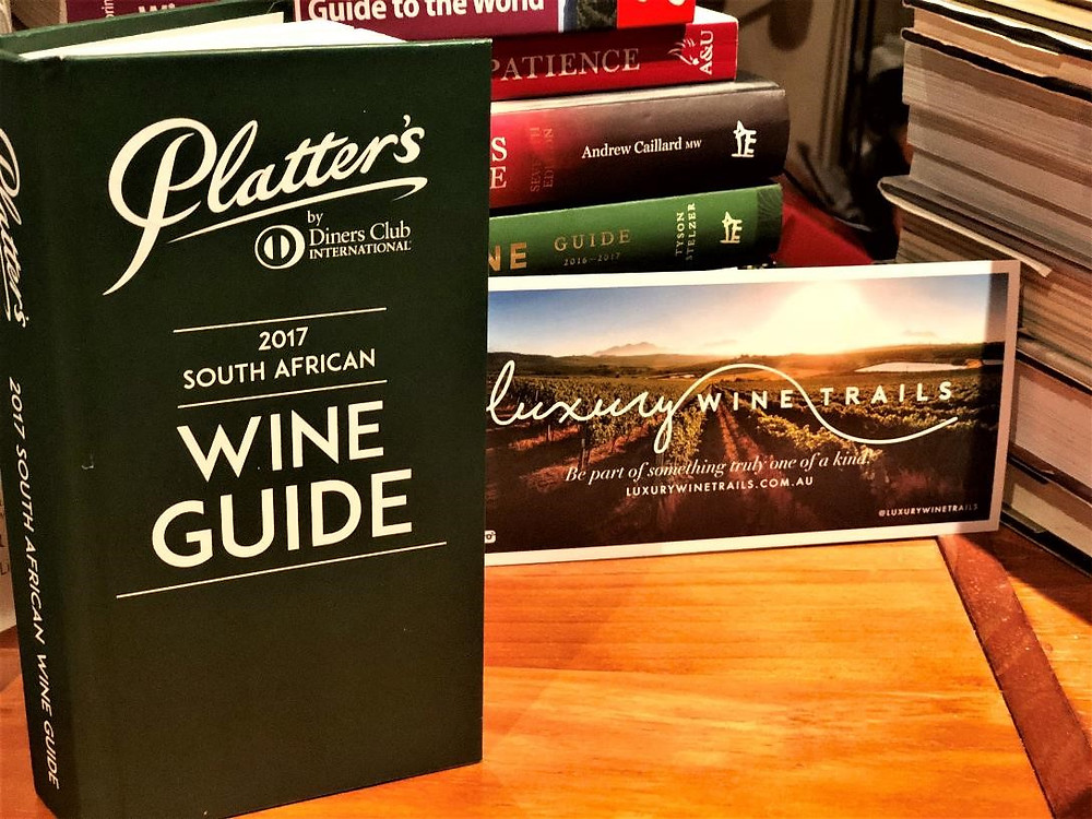 Platters South African Wine Guide - Luxury Wine Trails exclusive Cape Wineland private tours