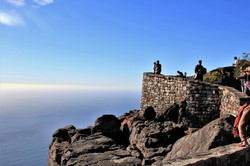 Ocean views atop Table Mountain in Cape Town South Africa - Luxury Wine Trails exclusive tours