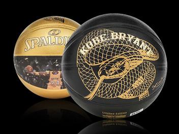 Basketbalmerk Spalding eert Kobe met 'special edition' basketbal