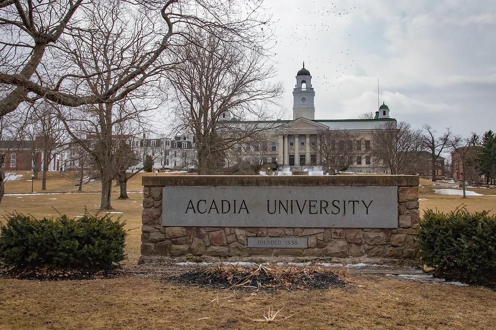 Acadia University Wolfville