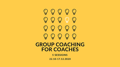 Group Coaching for Coaches (5 sessions)