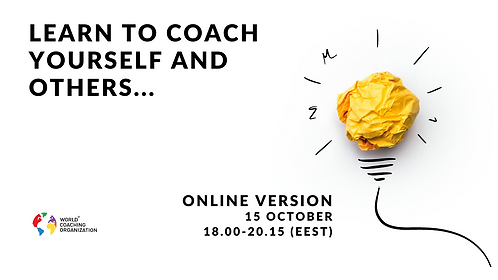 Introduction to coaching (online edition) 15.10.2020