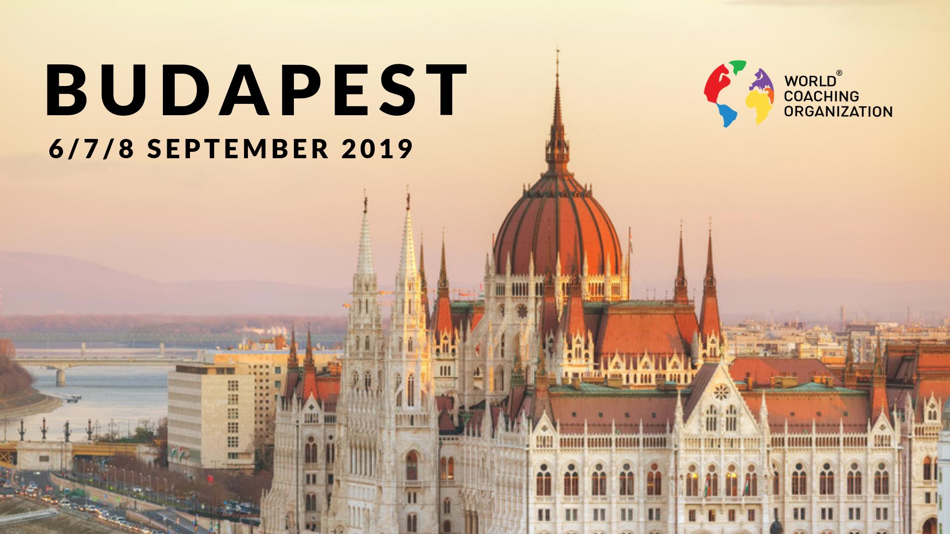 International Coaching Certification, Budapest September 2019
