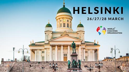 International Coaching Certification, Helsinki March 2021