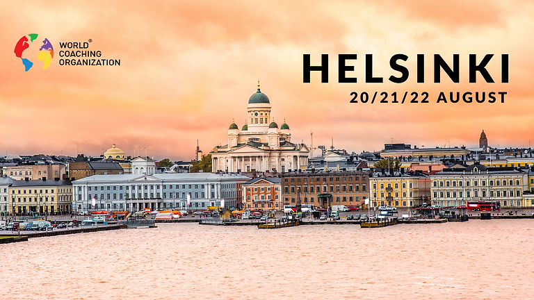 International Coaching Certification, Helsinki August 2021