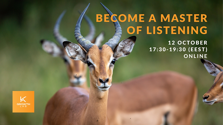 Growthlab presents: Become a Master of Listening