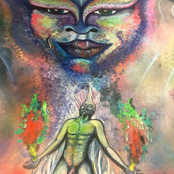 #artist #art #visionaryart #balancedbodhi #balancedbodhiart #artbymarinafontana #3dartist #3dart #lo