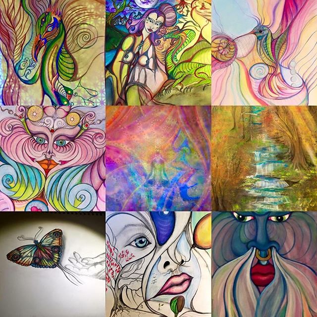 #balancedbodhiart #artbymarinafontana #visionaryart #colorful #3dartist