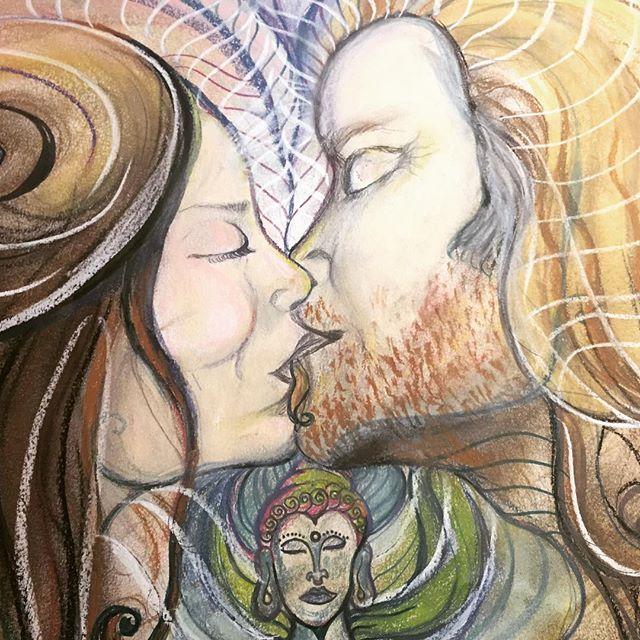 #healingArt #visionaryart #balancedbodhiArt #marinajesicafontanaart #art #love