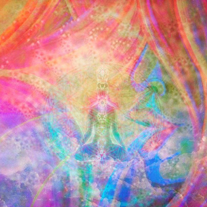 #balancedbodhiArt #visionaryart #artbymarinafontana #chakra #breath #breathe #pranayama
