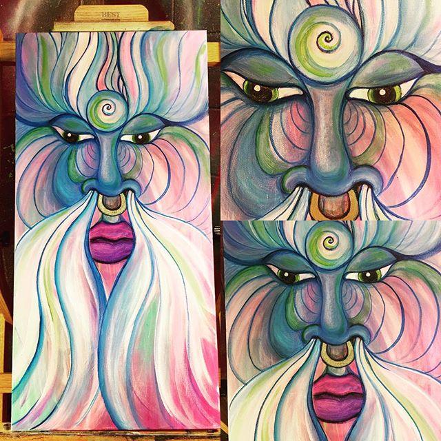 #balancedbodhiArt #healingArt #inspired #visionaryart #artbymarinafontana