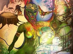 #visionaryartist #artbymarinafontana #visionaryartist