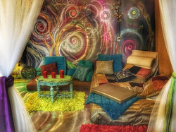 #basement #project #color #lounge #magic #fantasy #yaaay #balancedbodhiart 🎨✨💗🎶🙏