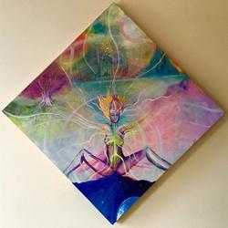 #balancedbodhi #balancedbodhiart #visionaryart #artbymarinafontana #goddess #creative #creation