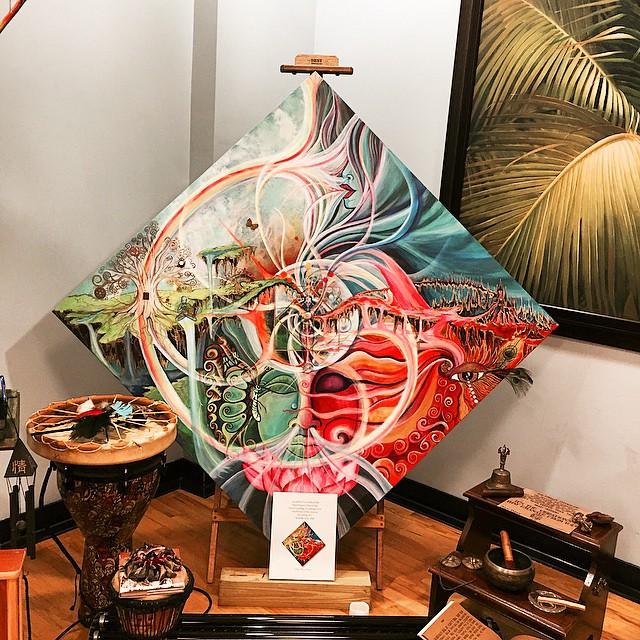 #balancedbodhi #sacredsoundsconference #MarinaJesicaFontanaArt #visionaryArt #3Dart #SubEk~AllOne