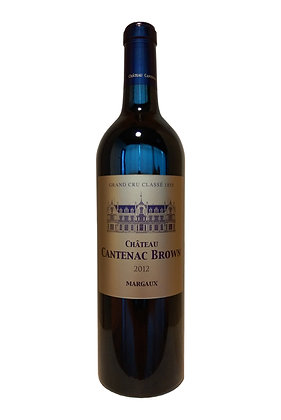 Chateau Cantenac Brown 2012 (3rd Grand Cru Classe)