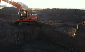 Residential excavation contractor