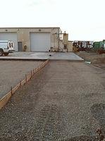 Commercial concrete driveway contractor