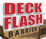 deck flash barrier